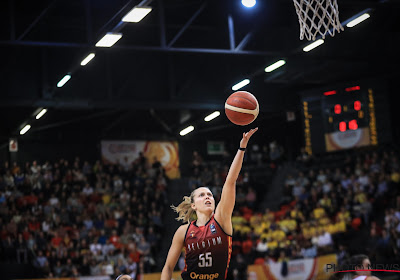 Julie Allemand is opnieuw uitgeroepen tot defensive player of the week in de WNBA
