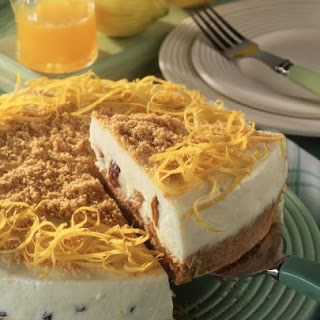 Lemon and Golden Raisin Cheesecake