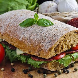 Genoa Salami Deli Sandwich