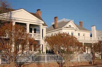 Photo: Morse House circa 1771 and Thomas-Humphrey House circa 1907 Photo courtesy David Sobotta