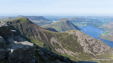 Photo: Red Pike and Crummock Water from High Stile, Lake District