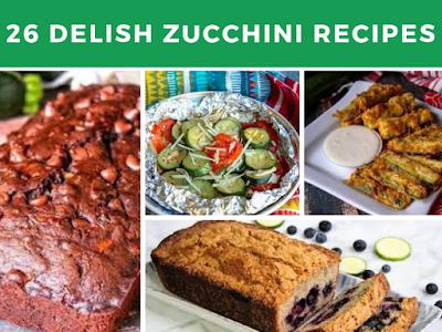 26 Delish Zucchini Recipes