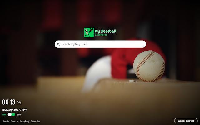 My Baseball Extension