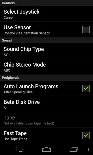 USP - ZX Spectrum Emulator apkmind screenshots 5