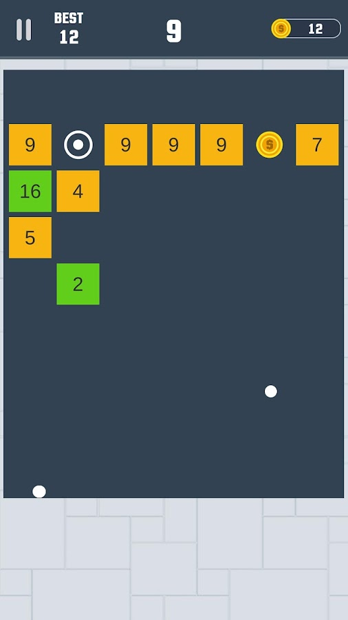 Balls Brick Smasher - Arcade- screenshot