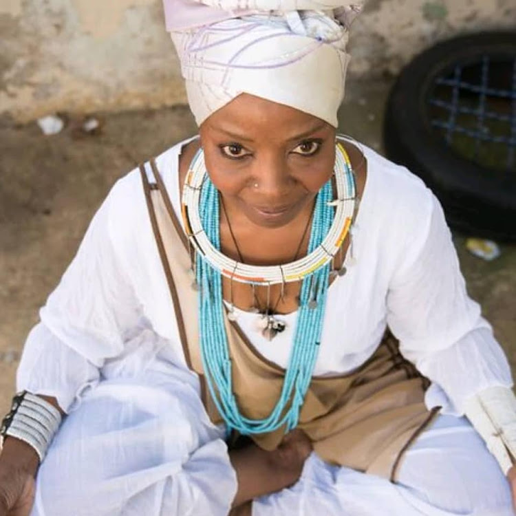 Musician and actress Tu Nokwe.