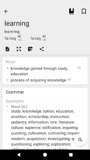 Dictionary & Translator Free screenshot 4