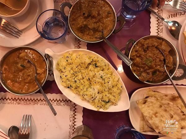 美食。新竹-印度小鎮Indis Town,來吃印度咖哩印度甩餅/異國料理不一樣