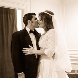by Myra Brizendine Wilson - Wedding Bride & Groom ( couple, event, family, anniversary, party,  )