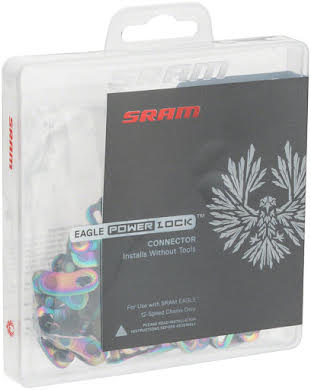 SRAM Eagle PowerLock for 12-speed - Rainbow - Bulk 50 Pack alternate image 0