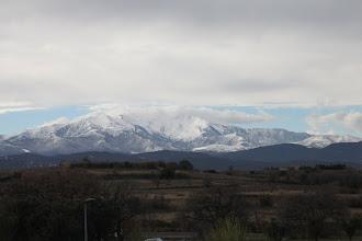 Photo: ... d'où la vue est magnifique sur le Canigou !
