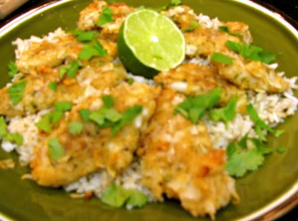 Oven Fried Coconut Chicken Recipe