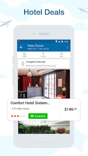 CheapOair: Cheap Flights, Cheap Hotels Booking App 3.20.3 screenshots 3
