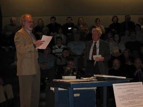 "Photo: Pete Simmons, ""Minnesota 8,"" to Prof. Romeyn Taylor"