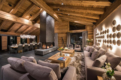 A Spectacular Chalet in the Snow Capped Zermatt