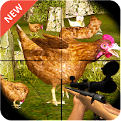 Chicken Shooter in Chicken Farm Chicken Shoot Game