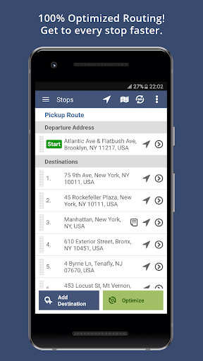 Route4Me Route Planner 4.3.8 screenshots 1