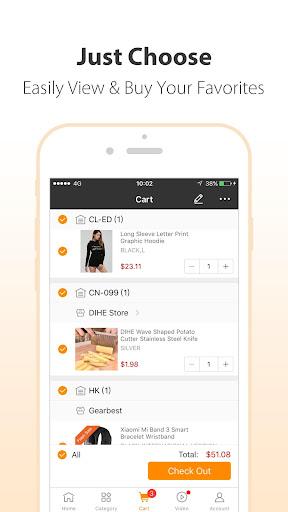 GearBest Online Shopping 4.1.0 screenshots 5