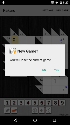 Kakuro Cross Sums screenshot 6