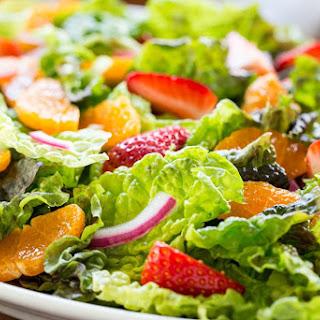 Strawberry Clementine Salad with Red Wine Vinegar Dressing Recipe