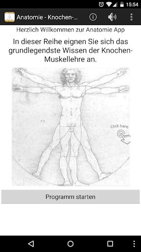Anatomie - Knochen-Muskellehre