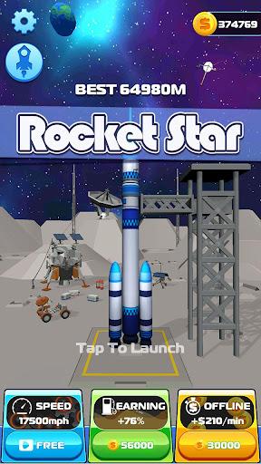 Rocket Star: 3D Rockets!!  captures d'écran 1