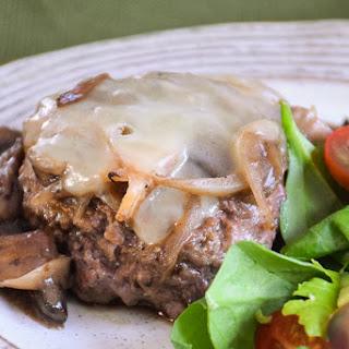 Smothered Hamburger Steaks #SundaySupper.