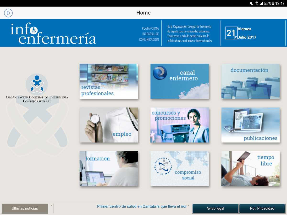 infoEnfermeria- screenshot