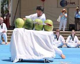 Photo: Darimar Martial Arts Grandmaster Jang 2014 Asian Festival