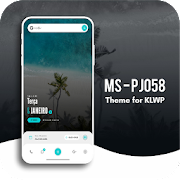 MS  PJ058 Theme for KLWP