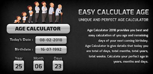 Easy Age Calculator - Birthday - Apps on Google Play