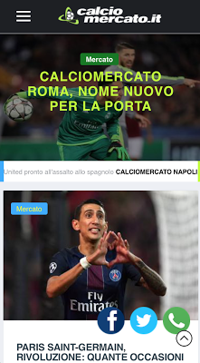 Calciomercato.it - screenshot
