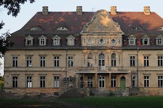Photo: Vollrahtsruhe - Ruine mit Sandschaufel seit über 10 Jahren Das ehemalige Schloß der Familie Tiele-Winckler
