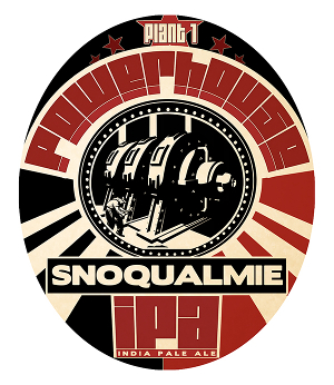 Logo of Snoqualmie And Taproom Plant 1 Powerhouse IPA