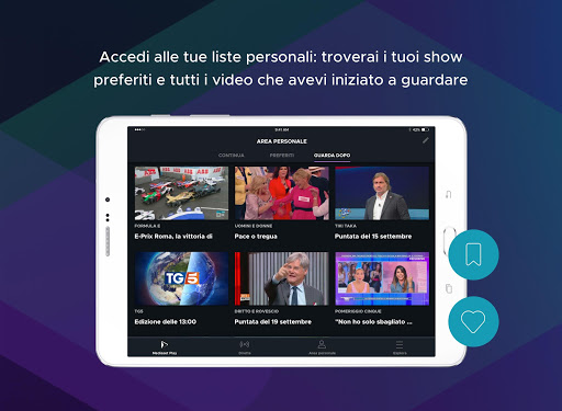 Mediaset Play 5.3.1 Screenshots 11