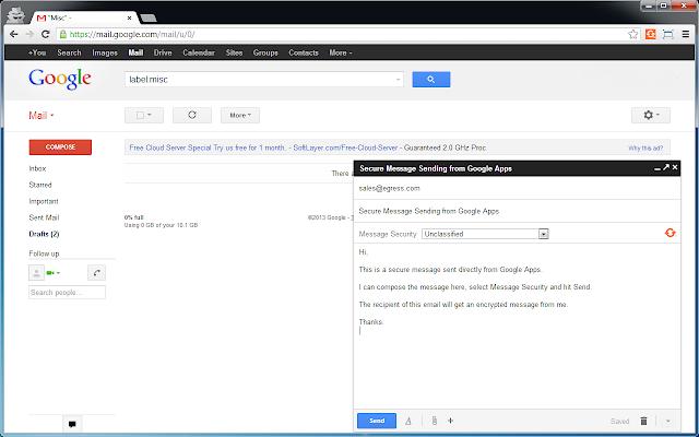Egress Switch for Google Chrome™
