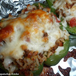 Stuffed Bell Peppers Ground Beef Rice Recipes