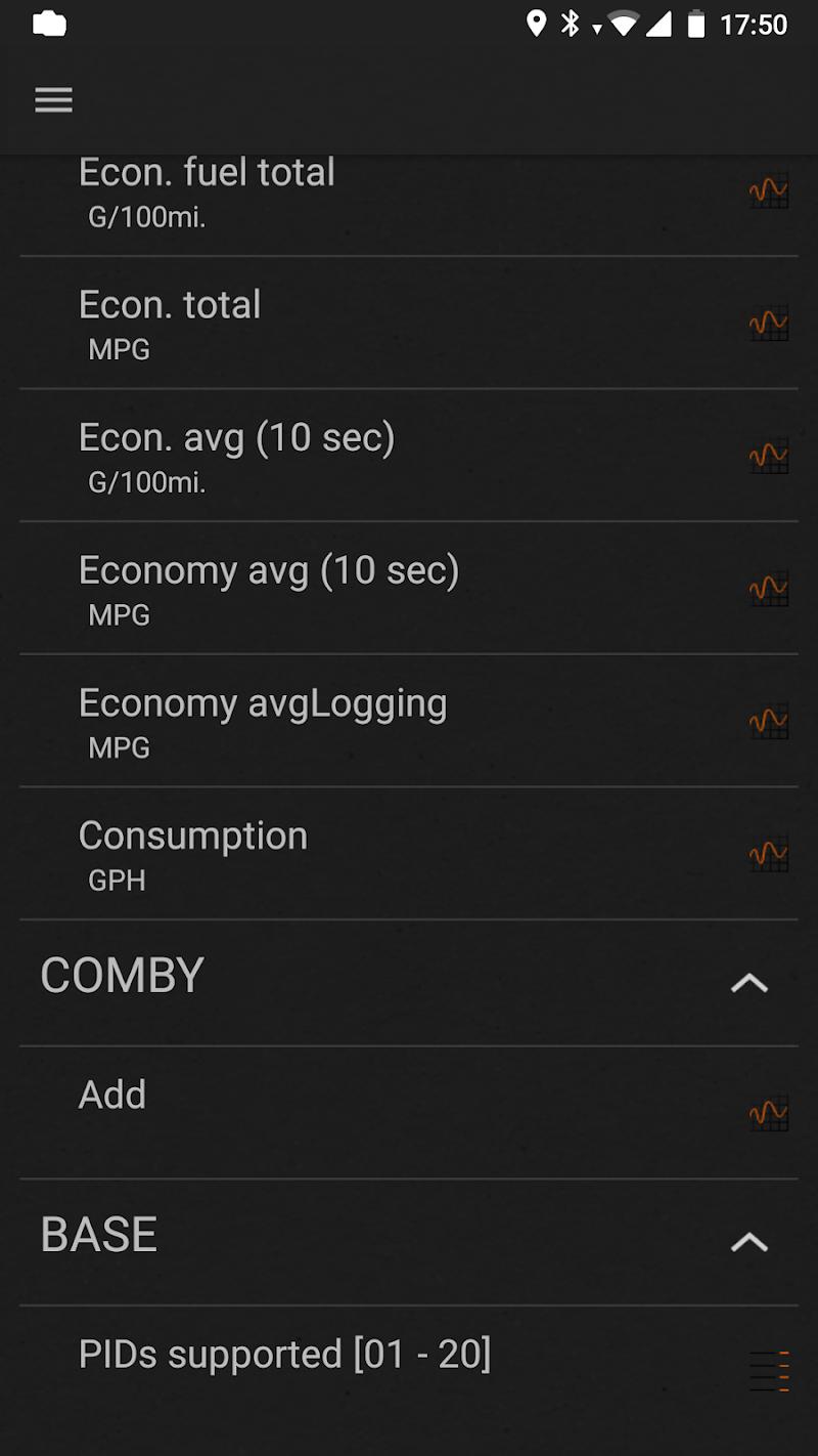 inCarDoc Pro | ELM327 OBD2 Scanner Bluetooth/WiFi Screenshot 3