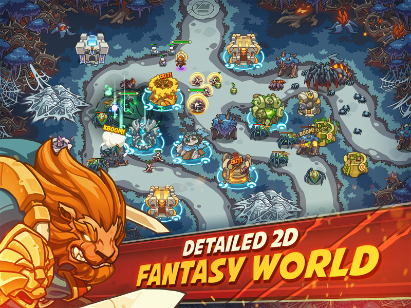 Empire Warriors Premium: Tactical TD Game Screenshot 8