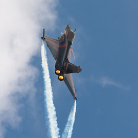 Afterburners on by James Booth - Transportation Airplanes ( plane, sky, aircraft, display, jet )