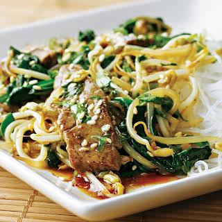 Korean Beef Stir-Fry.