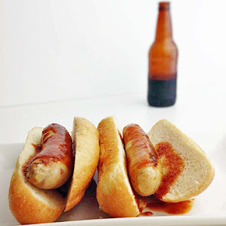Chicken Brats & Root Beer BBQ Sauce