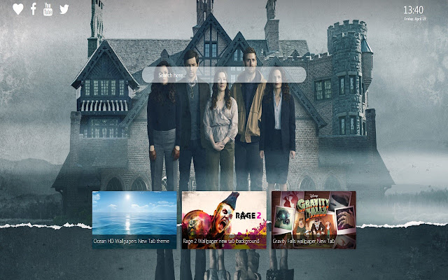 Haunting of Hill House Wallpaper New Tab