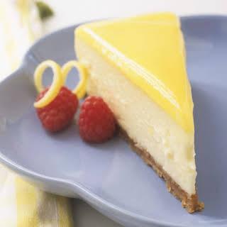Gluten-Free Lemon Cheesecake.