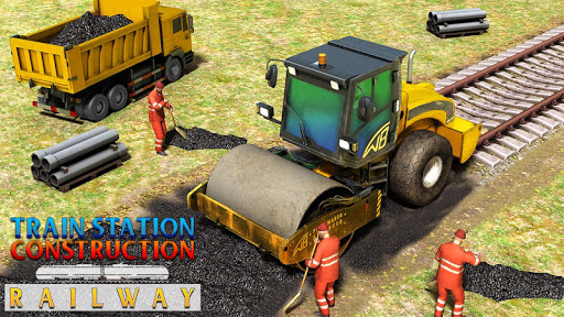 Train Station Construction Railway Apk 1