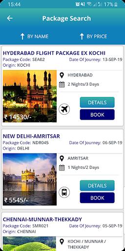 IRCTC Tourism screenshot 3