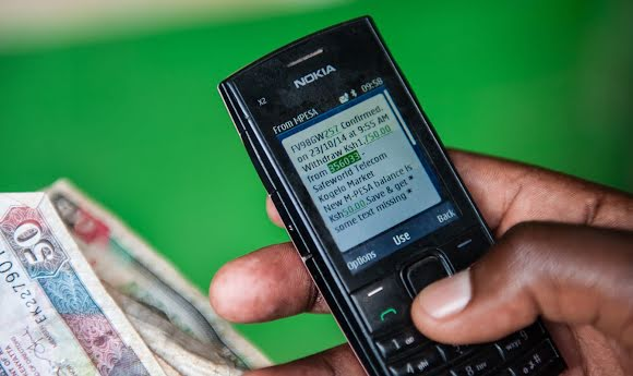 GiveDirectly recipients can access their money from their cell phones.