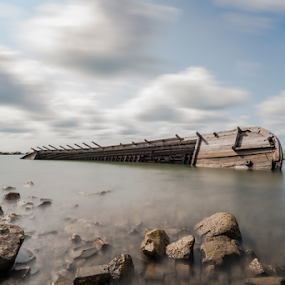 the boat by Johan Muliawan - Landscapes Cloud Formations ( boat )