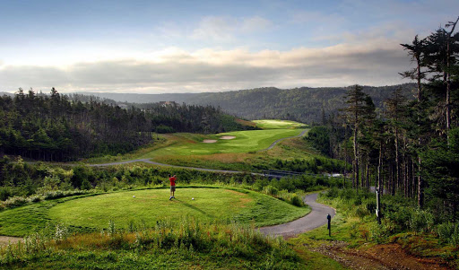 The 18-hole  Wilds Golf Resort is 45 minutes from St. John's, Newfoundland.