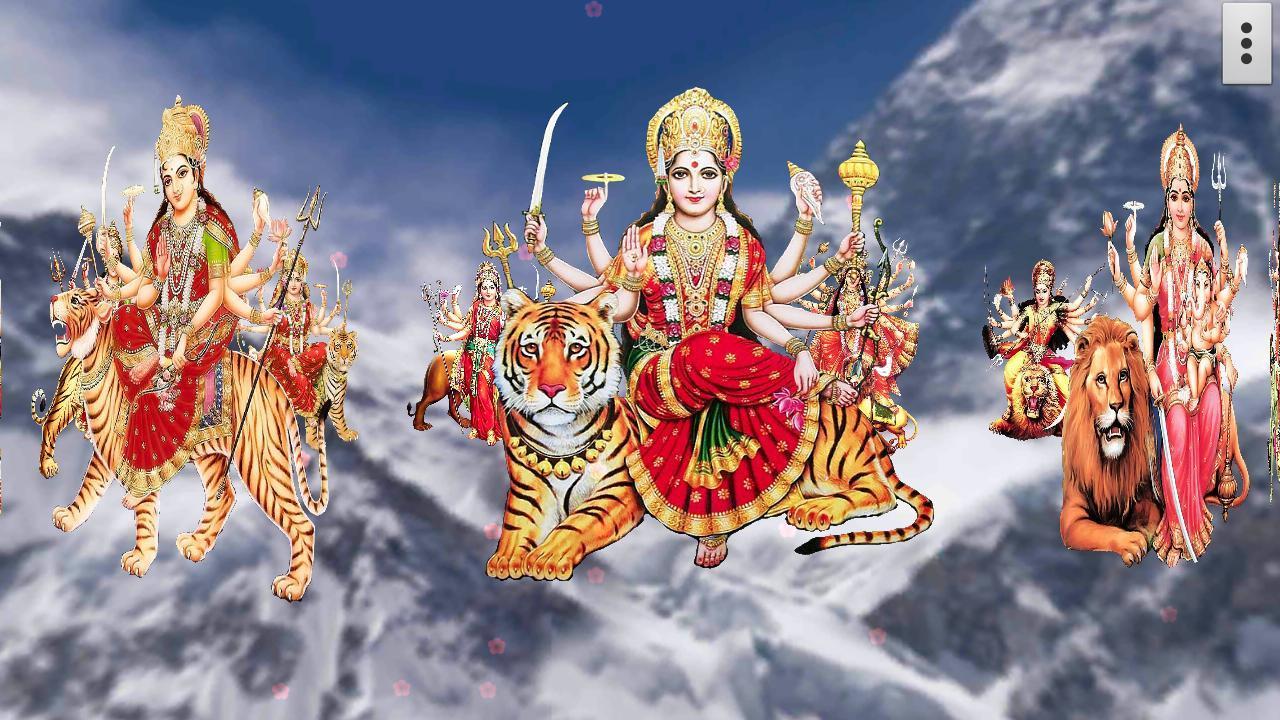 Wallpaper download maa durga - 4d Maa Durga Live Wallpaper Screenshot
